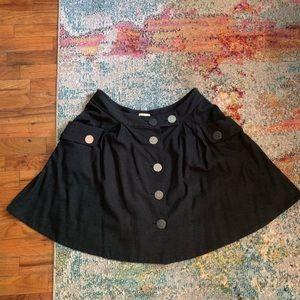 Button waist skirt from Anthropologie  size 12